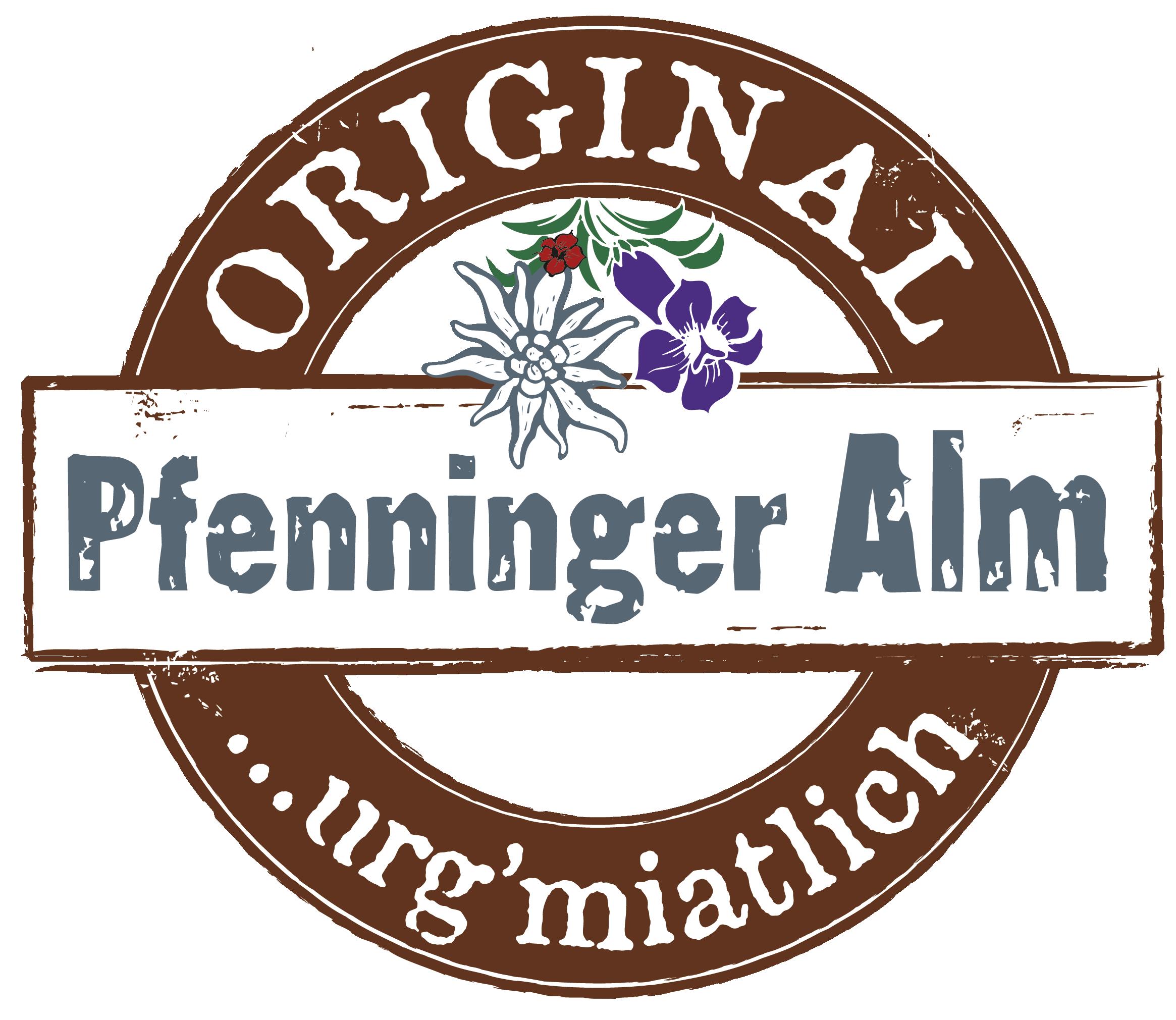Pfenninger Alm Logo